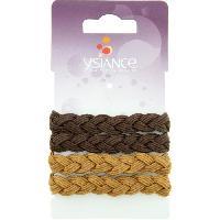 Pince - Barrette - Chouchou - Elastique Lot de 4 Elastiques cheveux Tresse Gl