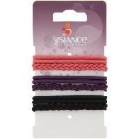 Pince - Barrette - Chouchou - Elastique Lot de 9 Elastiques cheveux Basic + Tresse Gl