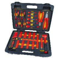 Pince Electricien Jeu de 24 outils pour electricien - Avec malette