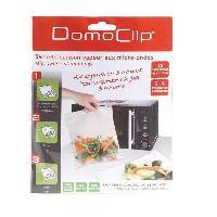 Pince Ferme Sachet - Clip Ferme Sachet DOC113 15 blisters micro-ondes + clipstrip