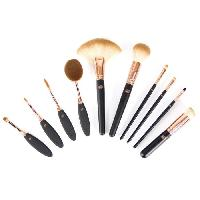Pinceaux De Maquillage - Applicateurs De Maquillage Set de pinceaux Visage et Yeux 10 pieces