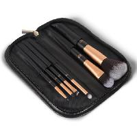 Pinceaux De Maquillage - Applicateurs De Maquillage Set de pinceaux Visage et Yeux 6 pieces