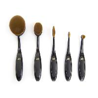 Pinceaux De Maquillage - Applicateurs De Maquillage Set de pinceaux Visage oval 5 pieces
