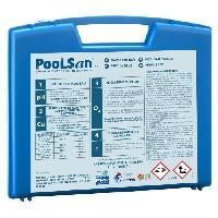 Piscine - Entretien Et Mesure POOLSAN Kit complet de désinfection - 100% sans chlore - Pour piscines de 25 a 40 m³