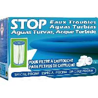 Piscine - Entretien Et Mesure Pastilles Stop eaux troubles - 102 g - Pour les piscines avec filtre a cartouche