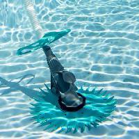 Piscine - Entretien Et Mesure SPOOL Aspirateur Robot automatique hydraulique pour piscine hors-sol et enterree - 0.33 CV -min. 250 watts-