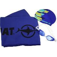 Piscine - Plongee - Chasse Sous-marine BEUCHAT Set de natation - Adulte - Bleu marine