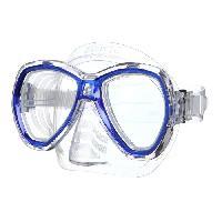 Piscine - Plongee - Chasse Sous-marine SEAC Masque de Plongée Elba - Adulte - Bleu