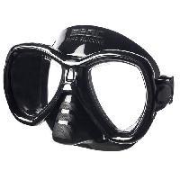 Piscine - Plongee - Chasse Sous-marine SEAC Masque de Plongée Elba - Adulte - Noir