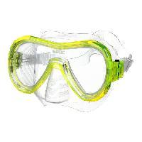 Piscine - Plongee - Chasse Sous-marine SEAC Masque de Plongée Panarea Silter Clear - Jaune