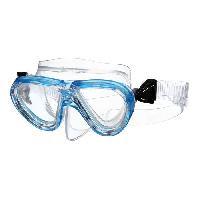 Piscine - Plongee - Chasse Sous-marine SEAC Masque de Plongée Procida Silter Clear - Junior/Enfant - Bleu