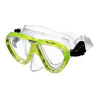 Piscine - Plongee - Chasse Sous-marine SEAC Masque de Plongée Procida Silter Clear - Junior/Enfant - Jaune