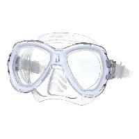 Piscine - Plongee - Chasse Sous-marine SEAC Masque de plongée Elba - Médium - Blanc