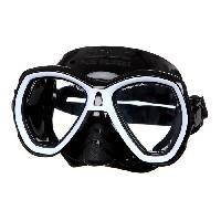 Piscine - Plongee - Chasse Sous-marine SEAC Masque de plongée Elba - Médium - Noir et blanc