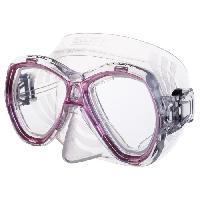 Piscine - Plongee - Chasse Sous-marine SEAC Masque de plongée Elba - Médium - Rose