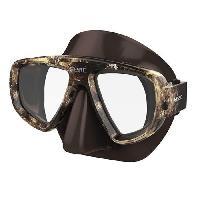 Piscine - Plongee - Chasse Sous-marine SEAC Masque de plongée Extreme Kama - Silicone - Marron - Mixte