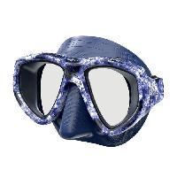 Piscine - Plongee - Chasse Sous-marine SEAC Masque de plongée One Kama - Silicone - Bleu - Haute définition