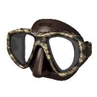 Piscine - Plongee - Chasse Sous-marine SEAC Masque de plongée One Kama - Silicone - Marron - Haute définition