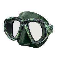 Piscine - Plongee - Chasse Sous-marine SEAC Masque de plongée One Kama - Silicone - Vert - Haute définition