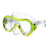 Piscine - Plongee - Chasse Sous-marine SEAC Masque de plongée Panarea Silter Clear - Médium - Jaune