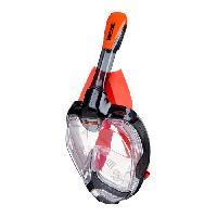 Piscine - Plongee - Chasse Sous-marine SEAC Masque de plongée intégral Unica - Taille L/XL - Noir et orange