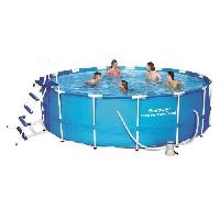Piscine BESTWAY Piscine ronde tubulaire Steel Pro Frame Pool tubulaire 4.57x1.22 m