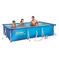 Piscine BESTWAY Splash Frame Pool Piscine rectangulaire tubulaire 3 x 2.01 x 0.66 m