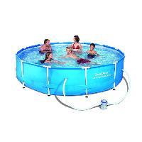 Piscine Complete - Kit Piscine Kit piscine tubulaire ronde 366 x 76 cm