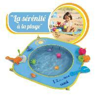 Piscine De Jeux - Piscine Gonflable - Pataugeoire Piscine De Plage 123 Soleil