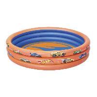 Piscine De Jeux - Piscine Gonflable - Pataugeoire Piscine Hot Wheels - 3 Boudins
