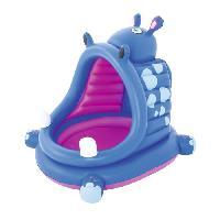 Piscine De Jeux - Piscine Gonflable - Pataugeoire Piscinette gonflable Hippo Baby Pool - 112 x 99 x 97 cm