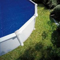 Piscine GRE - Bâche piscine été a bulles 180 µ 5 x 3 m