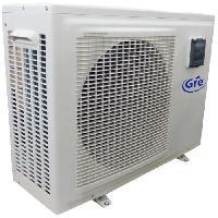 Piscine GRE Pompe a chaleur 4.5kW Reversible avec compresseur GMCC - Blanc