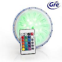 Piscine GRE Projecteur - LED Couleur - pour piscines hors-sol paroi en acier/métal