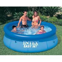 Piscine INTEX Kit piscine ronde autoportee Easy Set - O243 x 76 cm