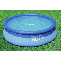 Piscine Intex bâche a bulles diam 2.06m pour piscine diam 2.44m