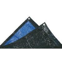 Piscine TECHIT 880203 Bache lourde de protection 140g-m2 - 2 x 3m . Bleu-Noir Tech-it
