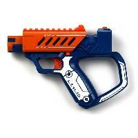 Pistolet A Boule - A Bille (puissance Inferieure A 0,07 Joule) - A Flechette En Mousse - Ventouse - Plastique LAZER M.A.D. - First Ops - Bleu et Orange