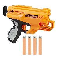 Pistolet A Boule - A Bille (puissance Inferieure A 0,07 Joule) - A Flechette En Mousse - Ventouse - Plastique NERF ACCUSTRIKE - Quadrant + 4 Flechettes