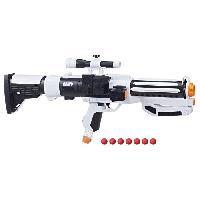 Pistolet A Boule - A Bille (puissance Inferieure A 0,07 Joule) - A Flechette En Mousse - Ventouse - Plastique NERF RIVAL - Stormtrooper + 7 Billes