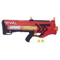 Pistolet A Boule - A Bille (puissance Inferieure A 0,07 Joule) - A Flechette En Mousse - Ventouse - Plastique RIVAL - Zeus MXV 1200 Rouge