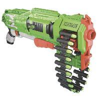 Pistolet A Boule - A Bille (puissance Inferieure A 0,07 Joule) - A Flechette En Mousse - Ventouse - Plastique ZOMBIE - Ripchain