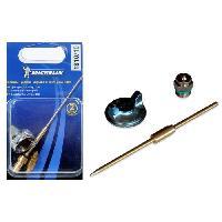 Pistolet A Peinture - Station De Peinture - Kit Aerographie Kit De Buse 2mm Pour Pistolet A Peinture Pro Blister