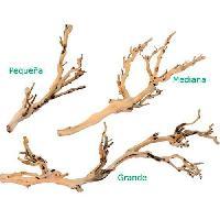 Plante D'aquarium - Vivarium - Terrarium - Decoration Vegetale - Substrat - Racine - Bois Decoration Pied de vigne sable - Moyen modele - Pour terrarium