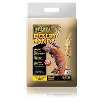 Plante D'aquarium - Vivarium - Terrarium - Decoration Vegetale - Substrat - Racine - Bois Sable desert jaune 45 kg