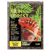 Plante D'aquarium - Vivarium - Terrarium - Decoration Vegetale - Substrat - Racine - Bois Substrat Rainforest 4.4 L - Pour terrarium