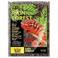Plante D'aquarium - Vivarium - Terrarium - Decoration Vegetale - Substrat - Racine - Bois Substrat Rainforest 8.8 L - Pour terrarium