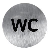 Plaque De Porte - Lettre Decorative Plaque metallique WC
