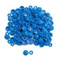 Plaques Immatriculation 250 Cache-rivets bleus Generique