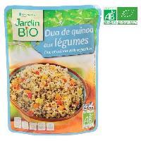 Plat De Legumes - Feculents Duo de quinoa aux legumes - 250 g